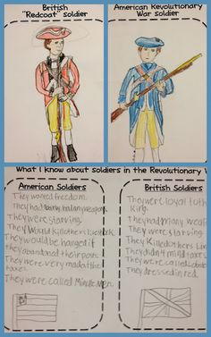 Maybe when I get back into 5th grade...good alternative to some of the writing projects 5th grade social studies, classroom, 5 grade social studies, histori, soldier, 5 th grade social studies, play catch, teacher, revolutionari war