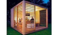 modern garden retrea