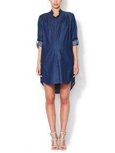 Denim Tunic Shirtdress by Alex + Alex Maternity at Gilt
