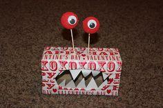 Monster valentine box