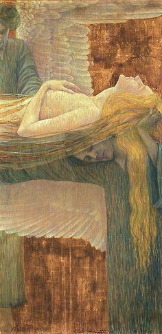 Wilhelm List(Austrian, 1864-1918),On Angels' Wings