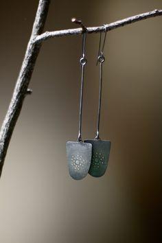 Sinking Stones Earrings by thenoisyplume on Etsy, $94.00