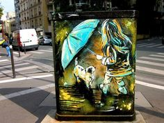 Inspiring Street Art by Alice Pasquini | Pursuitist