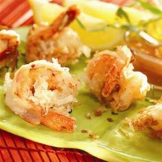 Coconut Shrimp with Spicy Apricot Dipping Sauce