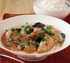 Thai chicken curry
