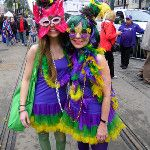 Lots of purple, green and gold... #MardiGras #NOLA