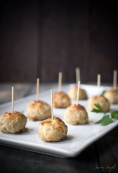 Jumbo Lump Crab Cake Bites are a perfect game day food!
