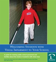 A guide for training public school personnel and families about the needs of students with vision loss is a multi-media set of modules that has been developed to provide vision professionals with a user friendly resource to help them share meaningful information about students with visual impairment to a wide array of audiences and venues.   - Pinned by @PediaStaff – Please Visit http://ht.ly/63sNt for all our pediatric therapy pins