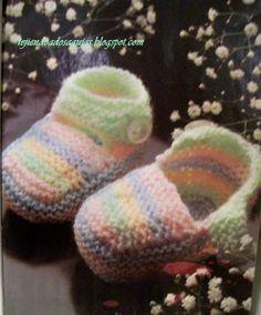 TEJIENDO A DOS AGUJAS: Tejidos para el bebe