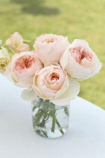 Wedding Flower Centerpiece ...pretty, yet simple