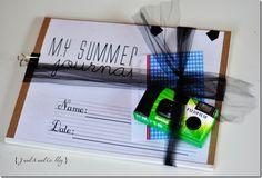 My Summer Journal.