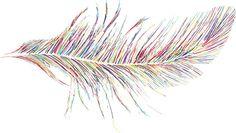 artsi fartsi, colors, rainbows, inspir, sweet tattoos, feathers, rainbow feather, feather tattoos, thing