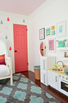 lovely little girl's room via @Sherry S S @ Young House Love