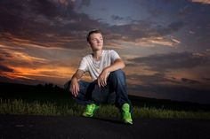sunset photography, senior boy, awesome, Lisa Karr Photography, Beloit Wisconsin, Find on Facebook