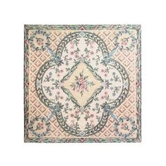 French country chateau victorian shabby chic dollhouse area rug. $8.99, via Etsy.