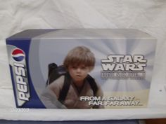 """Set of Pepsi Cans - Featuring Star Wars """"Episode I - The Phantom Menace"""" ( Picture 1) featur star, star wars"""