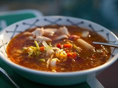 Smoked Chicken Minestrone Recipe : Guy Fieri : Food Network - FoodNetwork.com