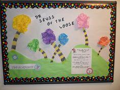 Dr. Seuss Truffula Tree board