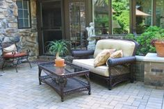 Bringing the Indoors to Your Outdoor World | Stretcher.com - Bring an artful touch to your front and back yards