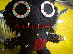 VooDoo Doll Pincushion by thesalvageemporium on Etsy, $12.00