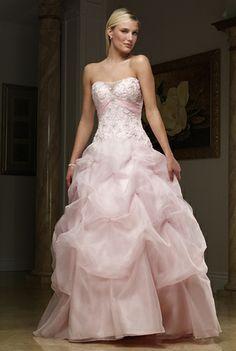 wedding dressses, idea, pink wedding dresses, someday, ball gowns