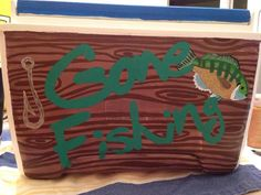 Personal and custom handpainted coolers for by CharlotteCustomCool, $120.00