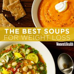 Snuggle up with a big bowl of one of these soups without sacrificing your diet. Mmm.