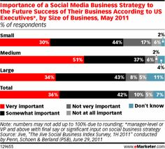 Reality Check: The survey of executives who have final say or significant input on social business strategy found that only 27% listed social business as a top strategic priority. Nearly half (47%) admitted a social plan was necessary but not a strategic priority and 19% said social business strategy was simply not necessary (Nichole Kelly)