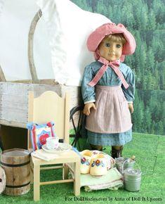 American Girl Doll Covered Wagon DIY Tutorial