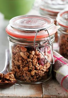 Peanut Butter and Quinoa Granola  http://www.almostallthetruth.com/green-living/ancient-supergrain-500-best-quinoa-recipes