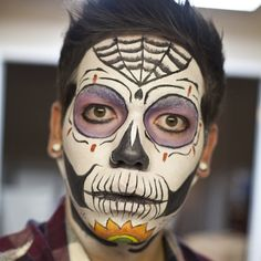 jeremyyyfx's Halloween look! Tag your pics with #Halloween & #SephoraSelfie for a chance to be on our board! #Sephora