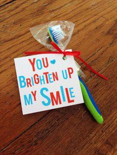 free printable Dental Valentine