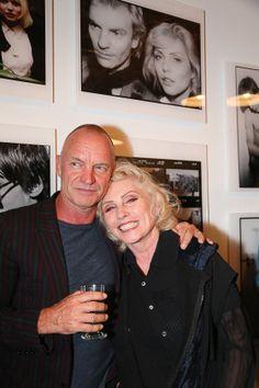 Blondie's Back - Sting and Debbie Harry