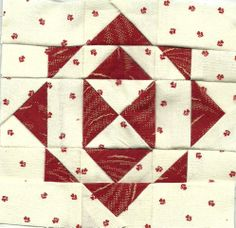 Helen's Patchwork Passion: DEAR JANE SHADES OF RED