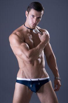 swimmers, wrestlers, football players … singlets, jockstraps, speedos and spandex! http://jockbrad.tumblr.com/