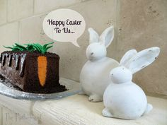 Carrot Patch Cake #Easter