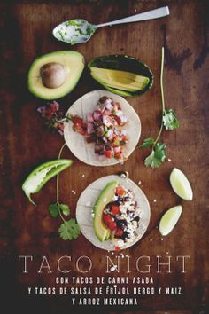 Carne asada, pico de gallo, black bean corn salsa, Simple Mexican Rice.TACO NIGHT FROM FOOD FOR THOUGHT WITH CLAIRE THOMAS Image Hosted by ImageShack.us