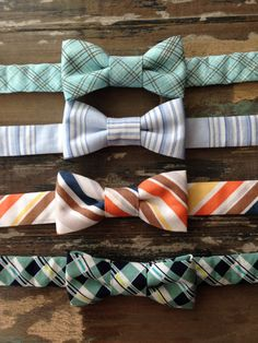 Vintage Collection! Toddler and Baby Boy Bow Ties-Blue, Brown, Navy, Green
