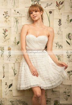 sweetheart chiffon bridesmaid dress...make it long make it a bridal gown ?