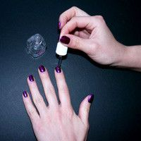 How To Dry Your Manicure In Two Minutes