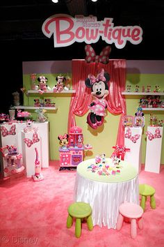 Minnie mouse birthday theme   minnies bow toons
