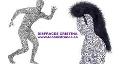 Second skin #costume zebra pattern. Malla de cebra. http://www.leondisfraces.es/producto-1204-malla-de-cebra