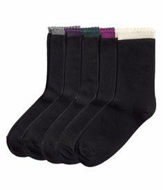5 paria sukkia 7,95 (koko 39/41)