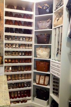 Walk-In Closet Makeover Ideas | my guest bedroom turn into a walk in closet. Custom closet by closet ...