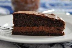 FLOURLESS SOFT CHOCOLATE MOUSSE CAKE - My Tartelette gluten free