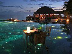 Amazing in the Maldives