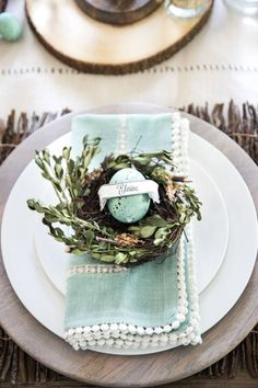 Easter Brunch Tables