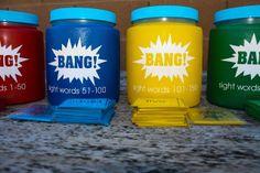 sight word game BANG Printables!!!