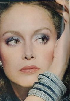 * Karen Ann Graham was an American model during the 1970s and the 1980s and a respected fly-fishing expert. For fifteen years, she was a spokesmodel for the cosmetics company Estée Lauder, Inc.