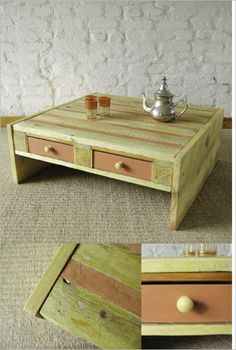 Ideas , DIY Wood Pallet – 20 Creative Furniture Idea : Coffee Table ...